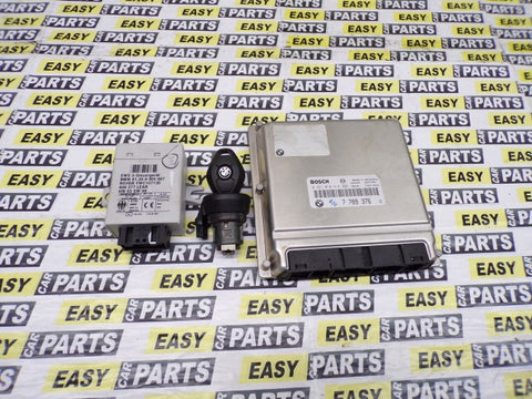 BMW X5 3.0 TD6 ENGINE ECU KIT WITH KEY