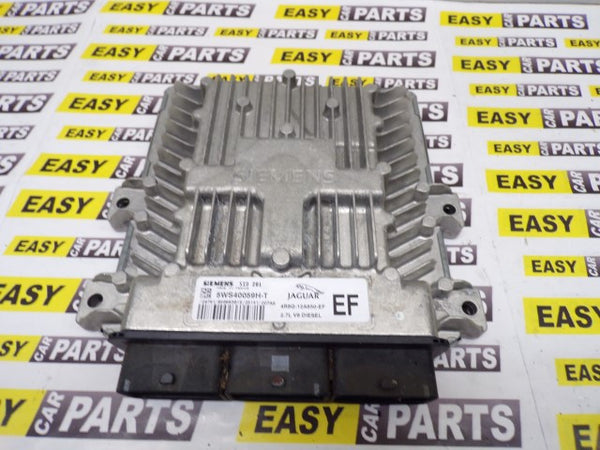 JAGUAR S TYPE 2.7 TDV6 ENGINE CONTROL UNIT / ECU 4R8Q-12A650-EF 5WS40059H-T