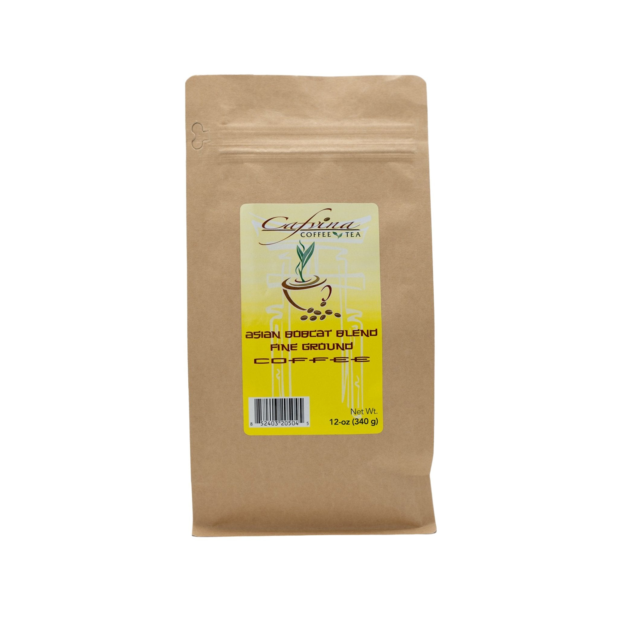 Asian Bobcat Blend® Brand Ground Coffee