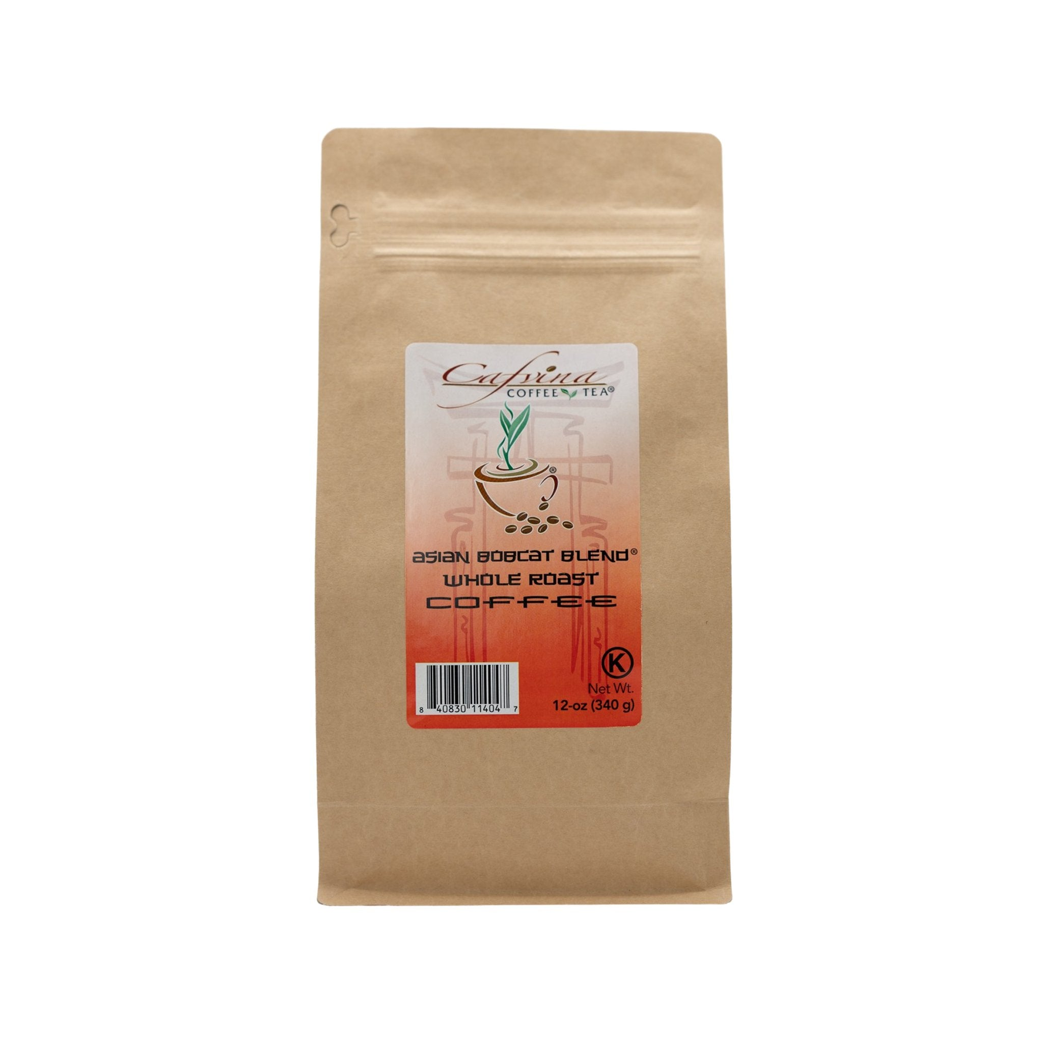 Asian Bobcat Blend® Brand Whole Coffee
