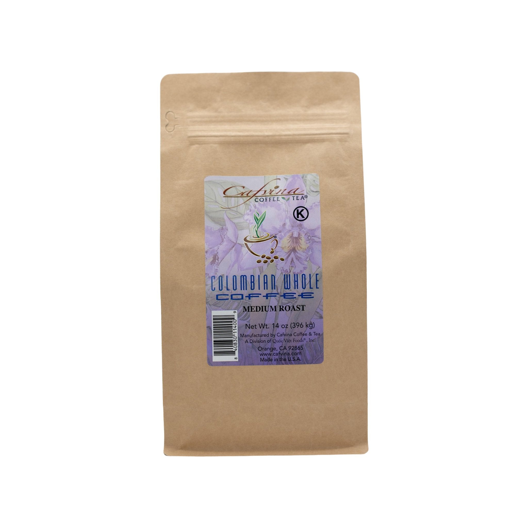 Colombian Whole Coffee