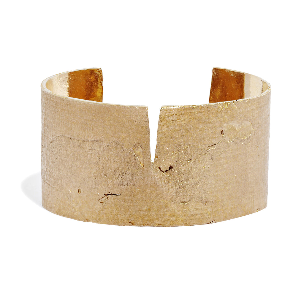 Split Mega Paper Cuff in Bronze