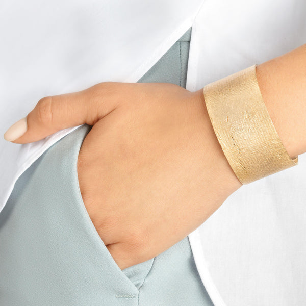 Mega Paper Cuff in Bronze