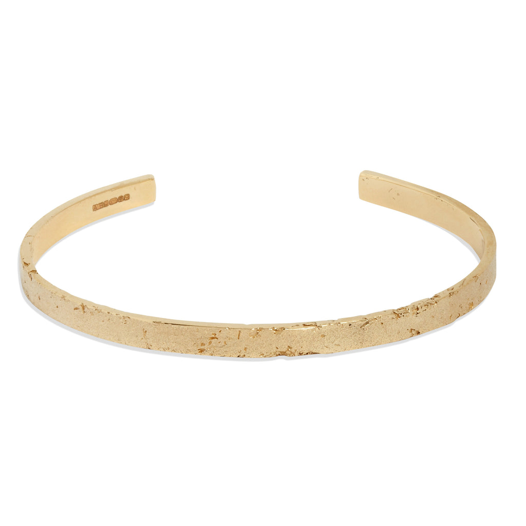 Women's Paper Cuff in Yellow Gold
