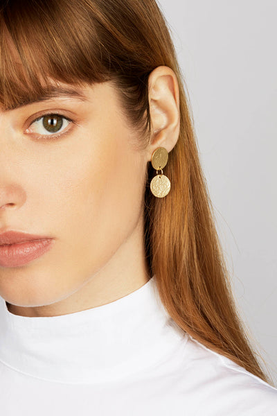 Gold Arcade Earrings