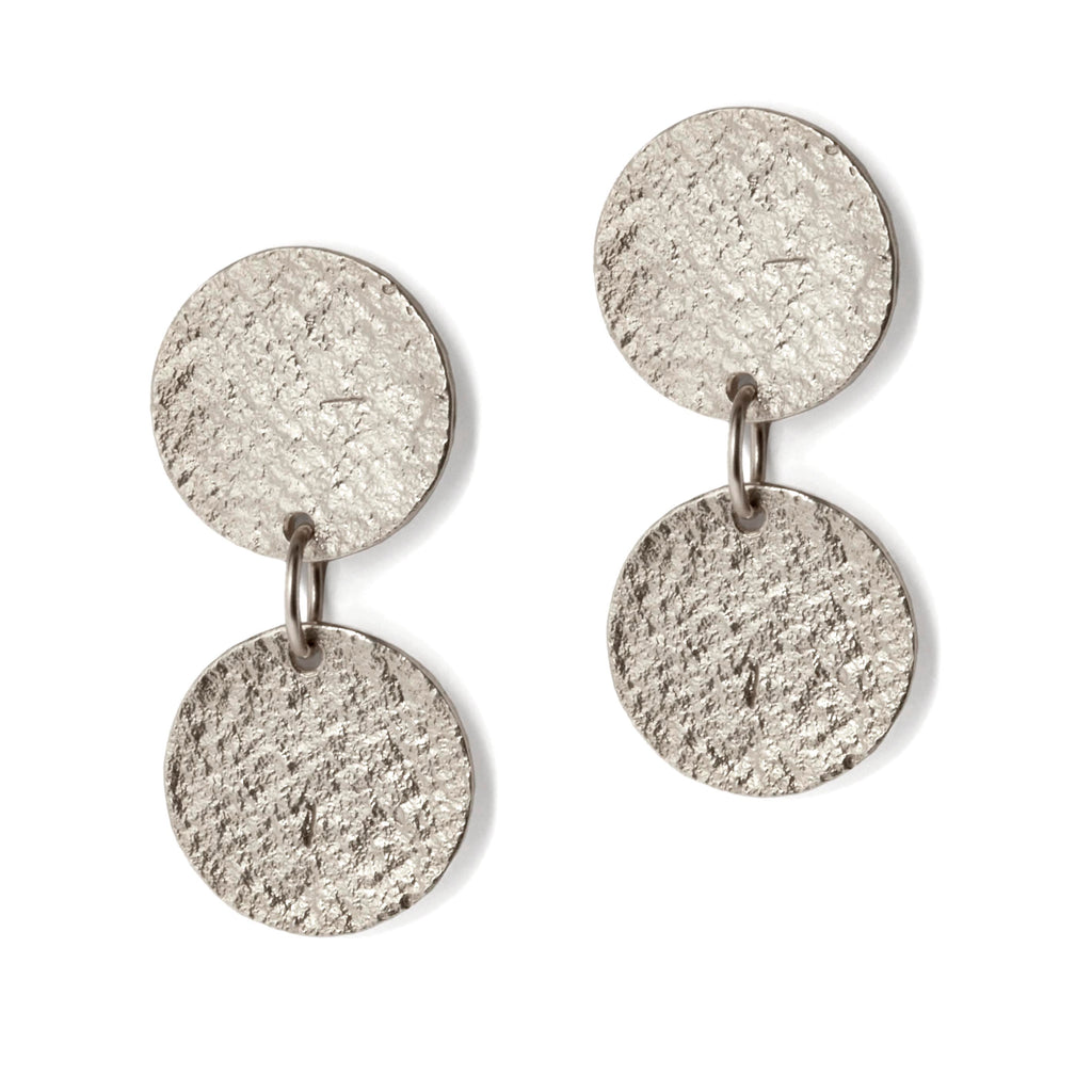 Silver Arcade Earrings