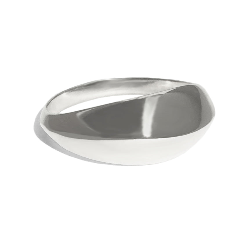 Bombay Ring in Silver