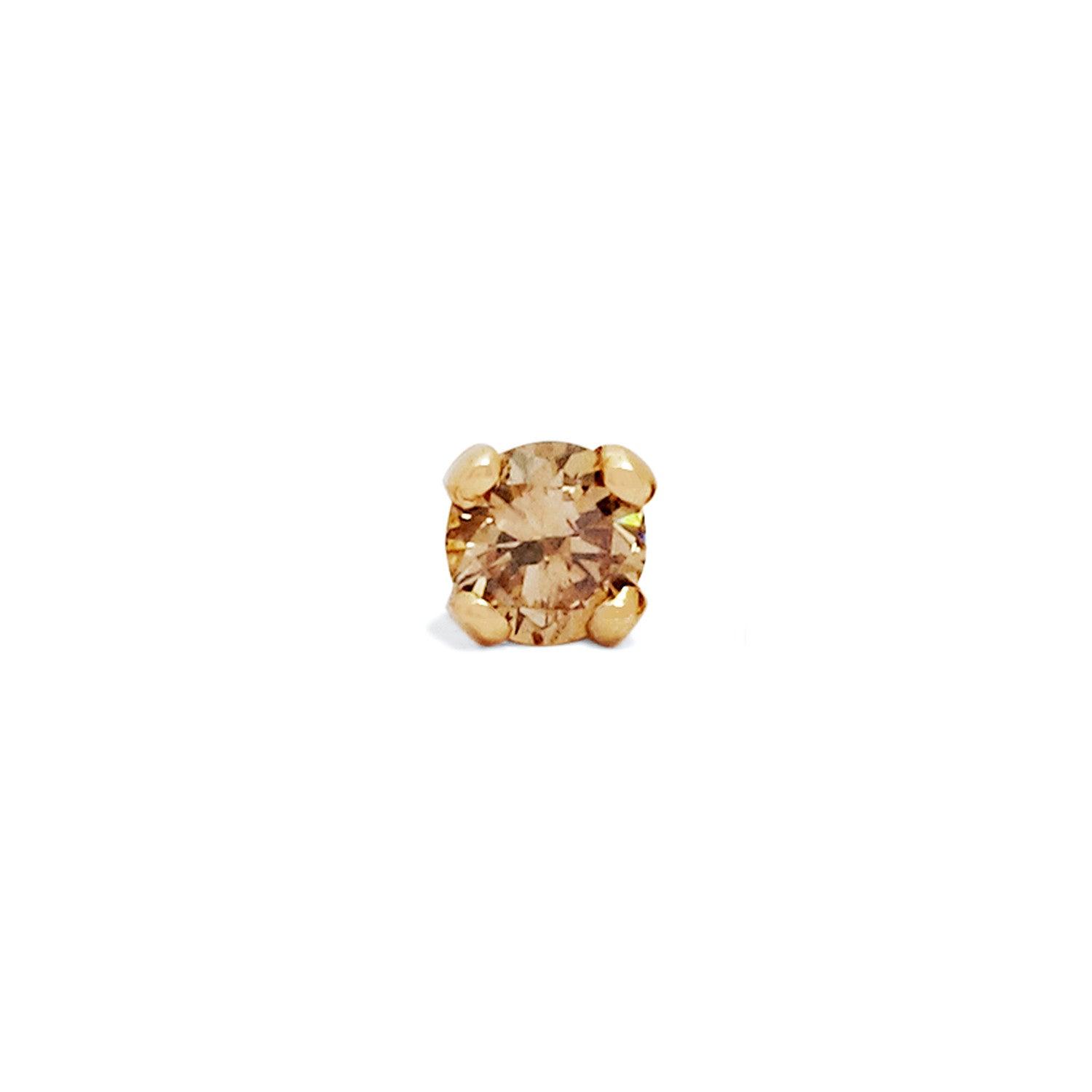 bryan studs jewellery allison stud small products brown diamond