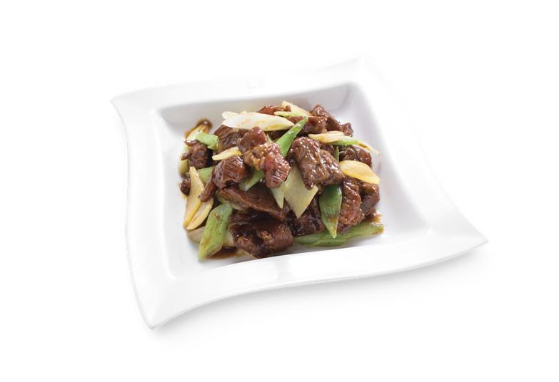 Stir-Fried Beef with Scallions