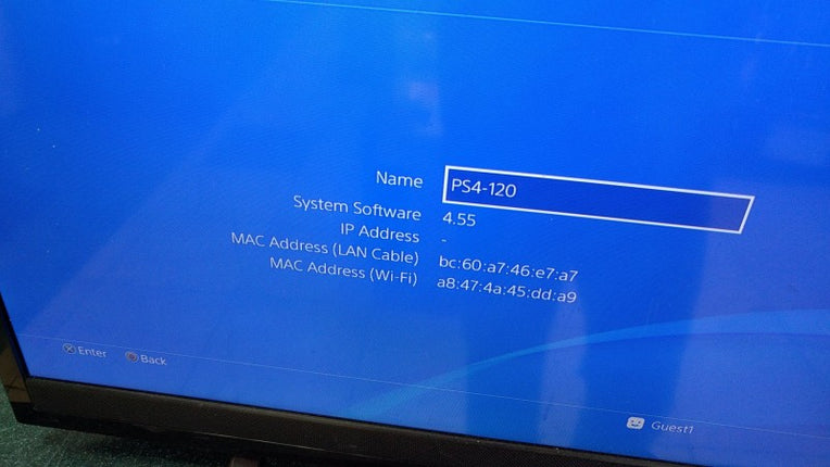 PS4 S Playstation Slim Firmware Repair