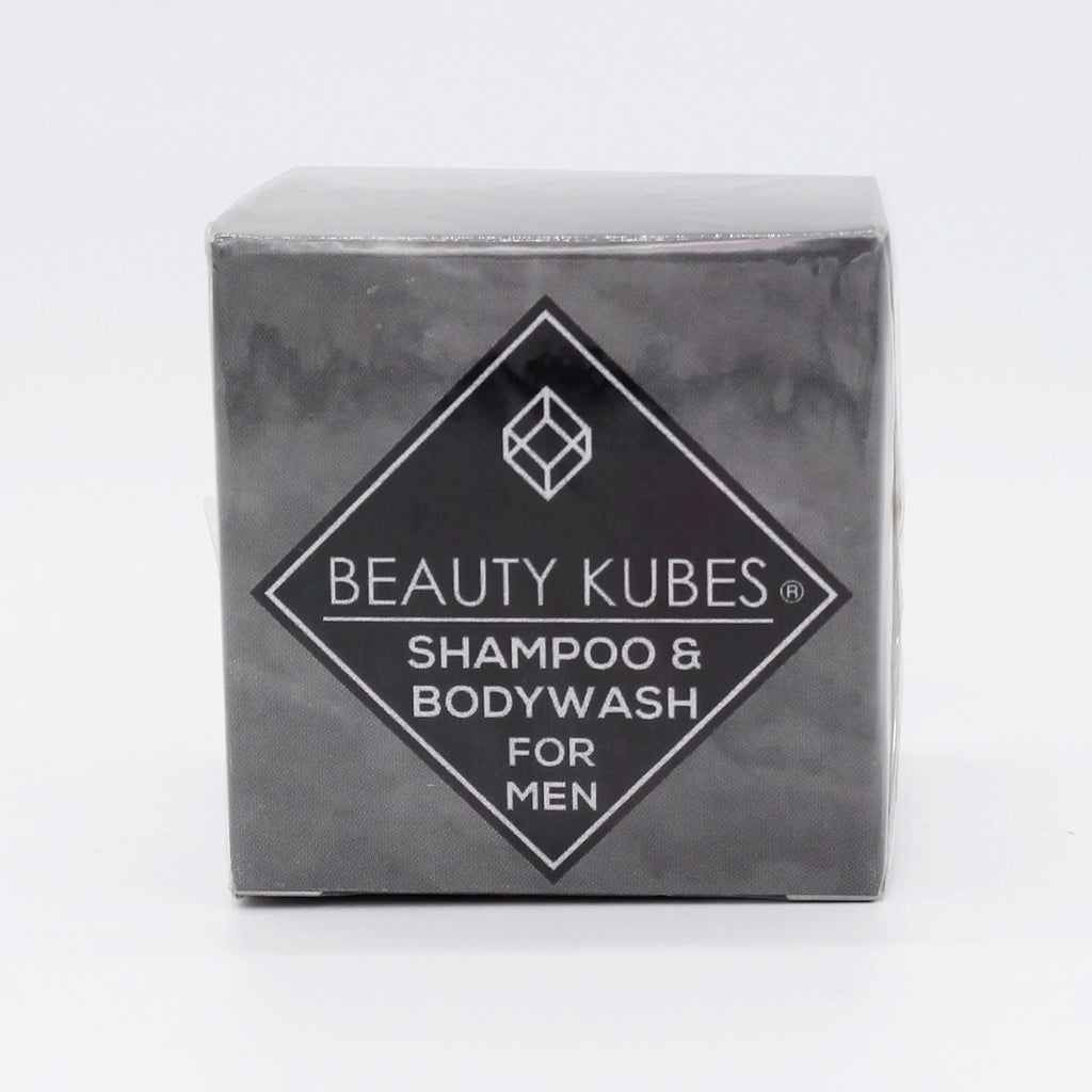A new plastic-free solid shampoo and body wash for men, vegan friendly and sulphate free, cruelty-free and free from palm oil and palm derivatives. Our plastic-free shampoo packaging can help you achieve a plastic-free lifestyle.  A high-performing alternative to shampoo bars.