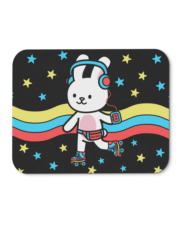 LP the Bunny Retrocade Roller Skate Mouse Mat