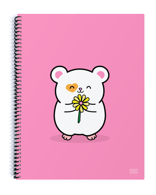 Daisy the Ham Ham Spiral Notebook