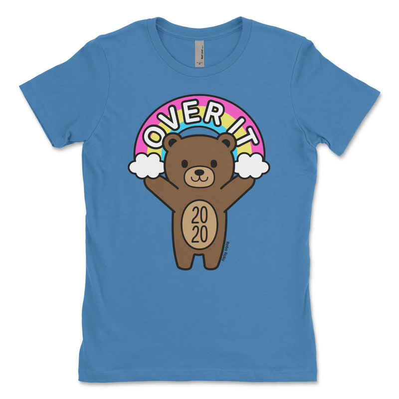 Over It! Mood Bear Women's Shirt