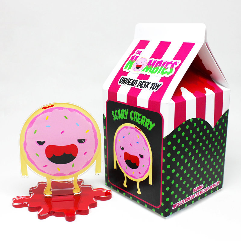 The Nombies Desk Toy - Scary Cherry