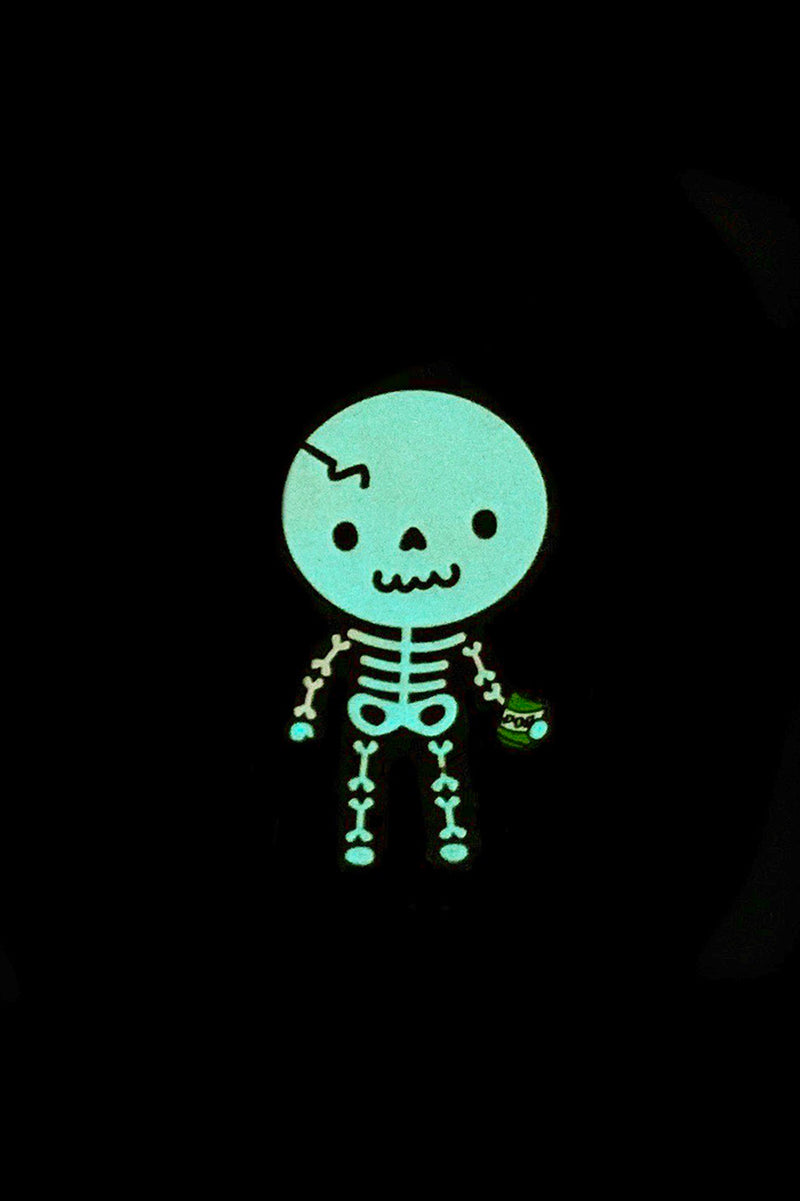 Soda Pop Skelly Enamel Pin Pal