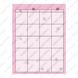 Bubble Tea Bae - 12-month Undated Planner