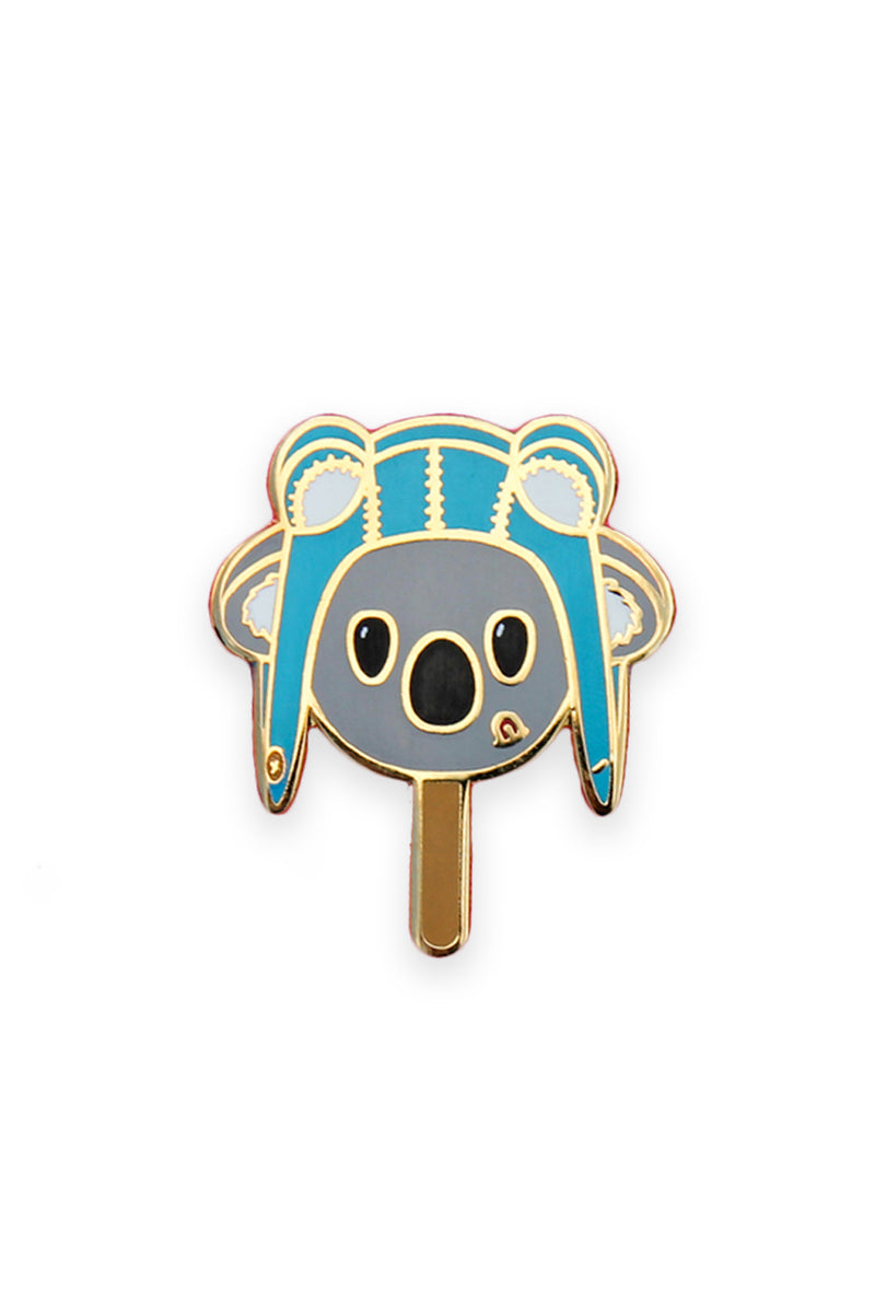 Ace Koala Pop Enamel Pin Pal