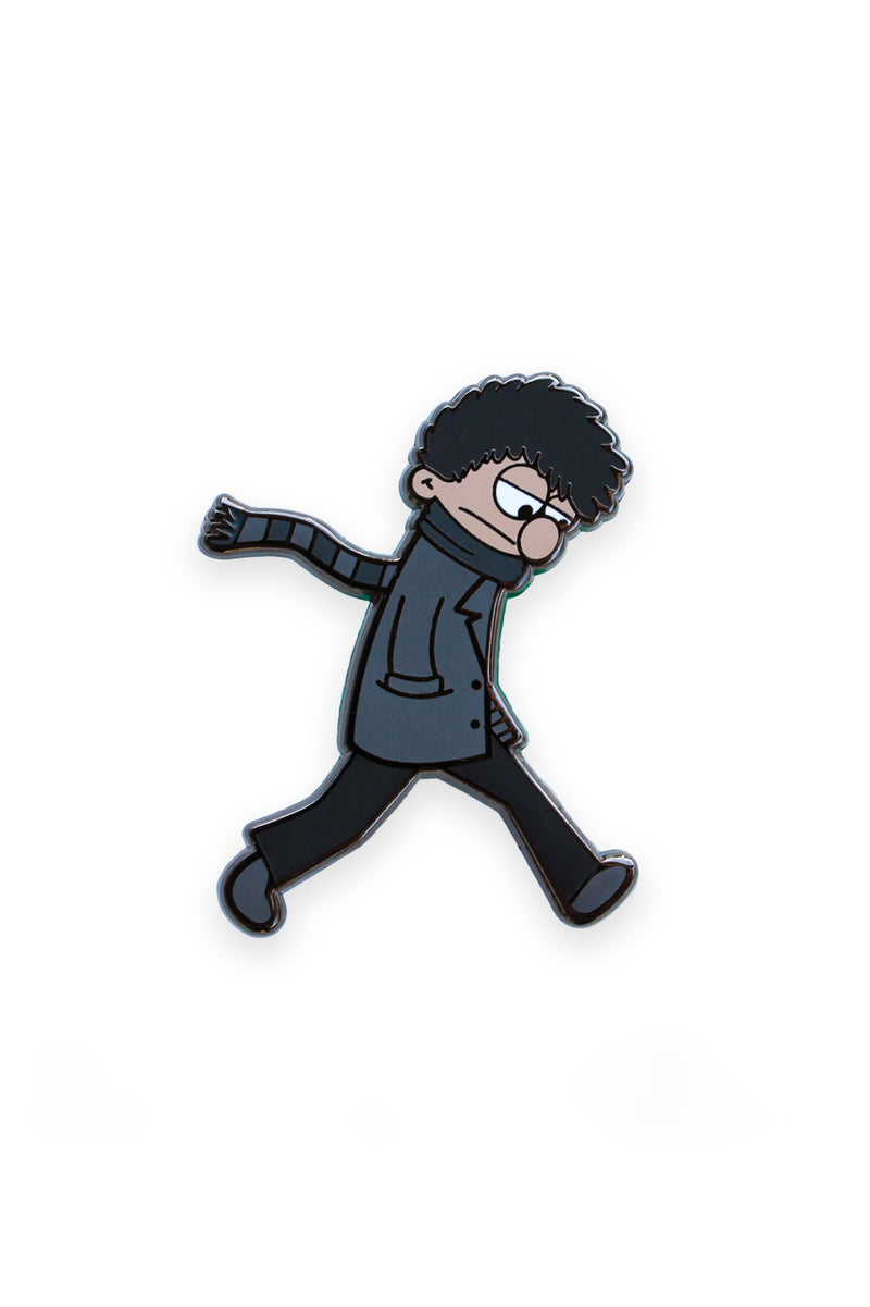 Blustery Boy Enamel Pin Pal