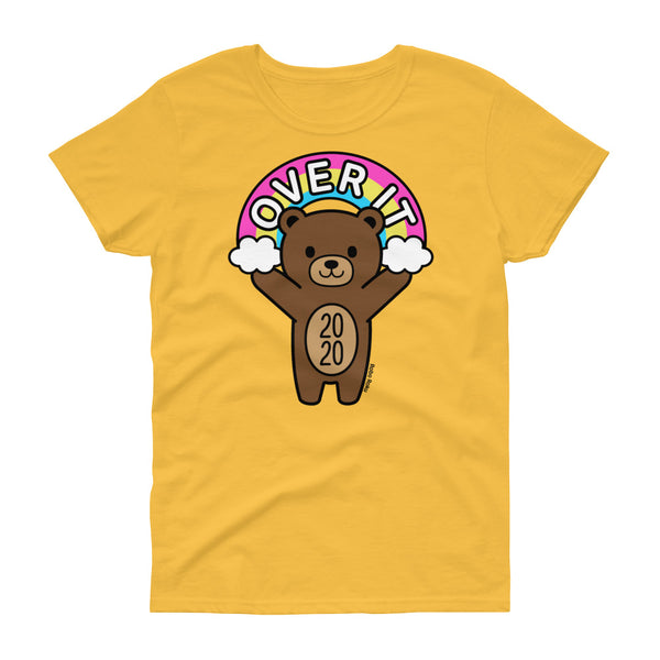 Over It Mood Bear Women's Shirt