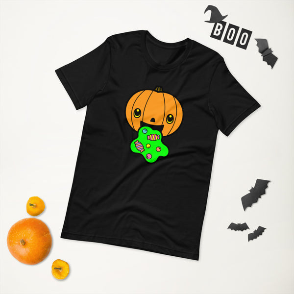 Puking Pumpkin Halloween Shirt