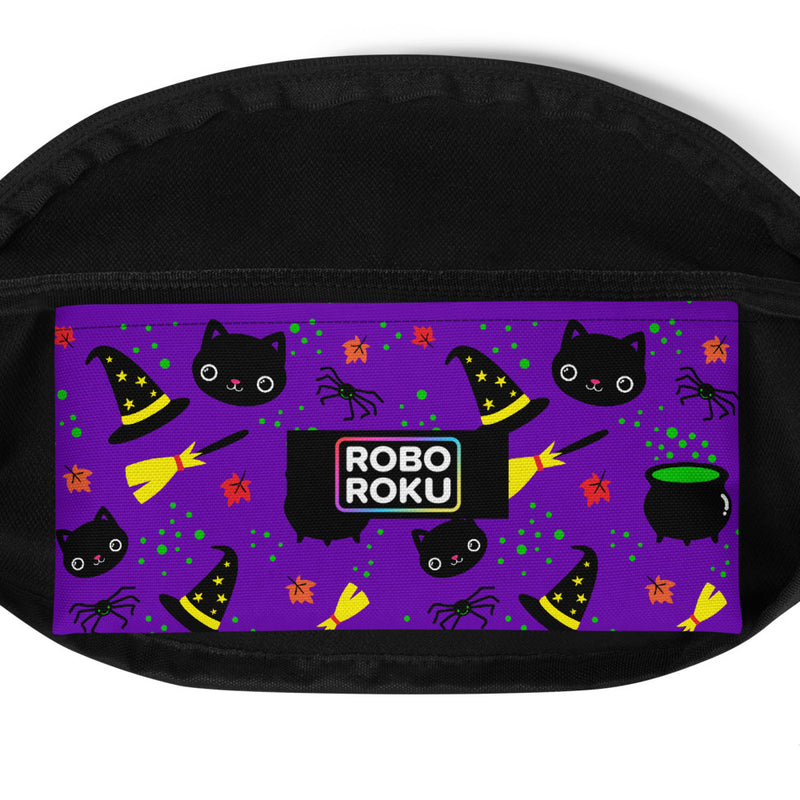 Black Cat Magick Fanny Pack