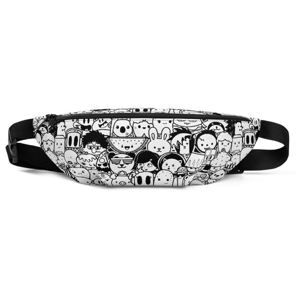Whiteout Fanny Pack