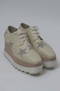 Derbies compensées Stella McCartney