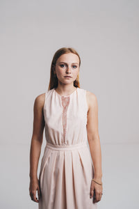 Robe Claudie Pierlot rose
