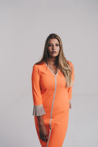 Robe Xandres orange flash