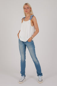 Top Claudie Pierlot blanc
