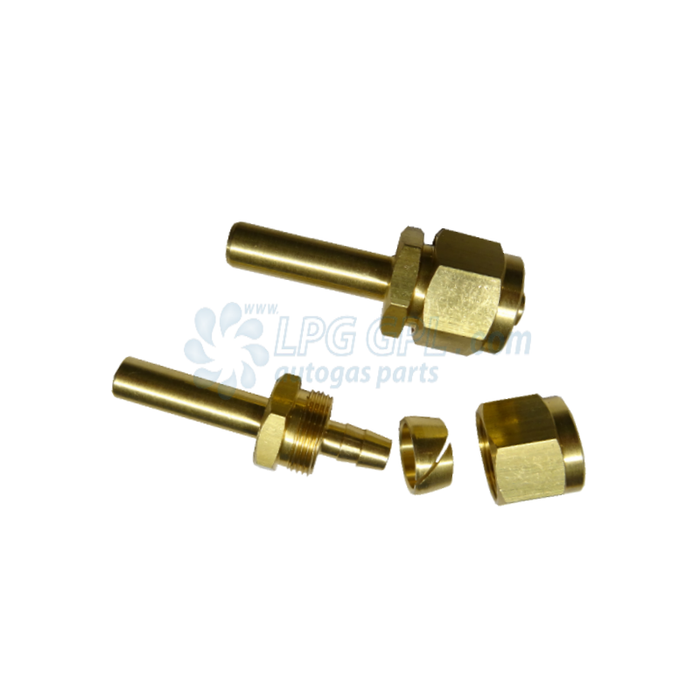 6mm Faro Poly Pipe Metal End Fittings