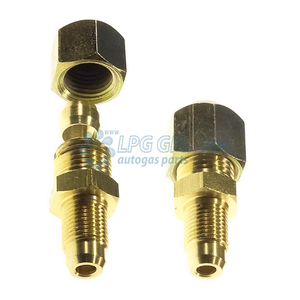 6mm to 8mm adapter, converter, olives, copper pipe, brass compression, lpg, autogas, flexi