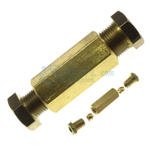 6 to 8mm compression joint,6 - 8mm lpg connection, 6 mm to 8 mm, lpg connection, faro hose, 6mm copper
