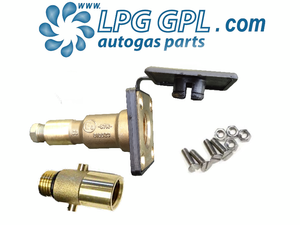 Autogas filler, straight, 8mm, hidden, with bayonet, lpg, propane, detachable, filling, propane