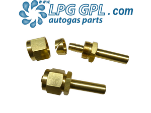 Faro pipe ends, brass, polypipe, ends, autogas, lpg, propane, filler, filling