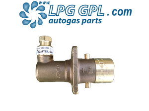 LPG filler, 8mm, olive fitting, angled, bayonet, autogas, lpg, filling pot, brass
