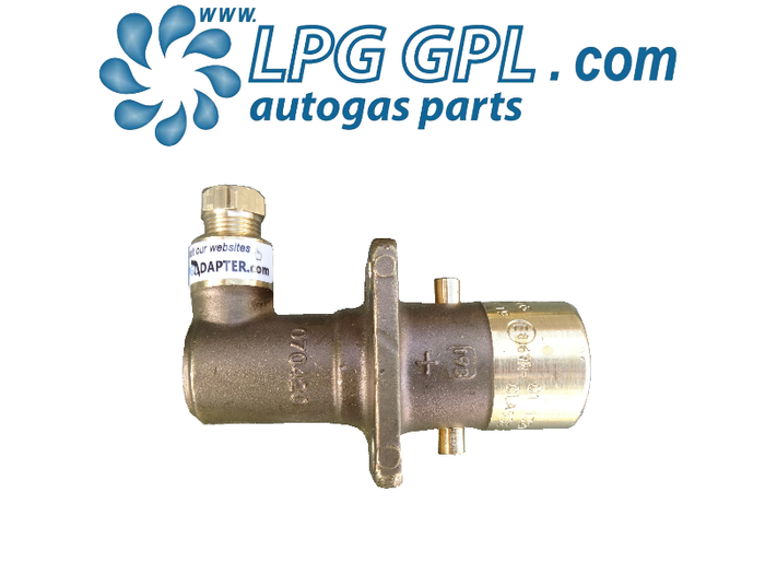 Autogas Filling Point 8mm Angled Bayonet Olive Fitting