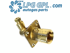 LPG filler, 8mm, olive fitting, angled, bayonet, autogas, lpg, filling pot, brass, motorhome