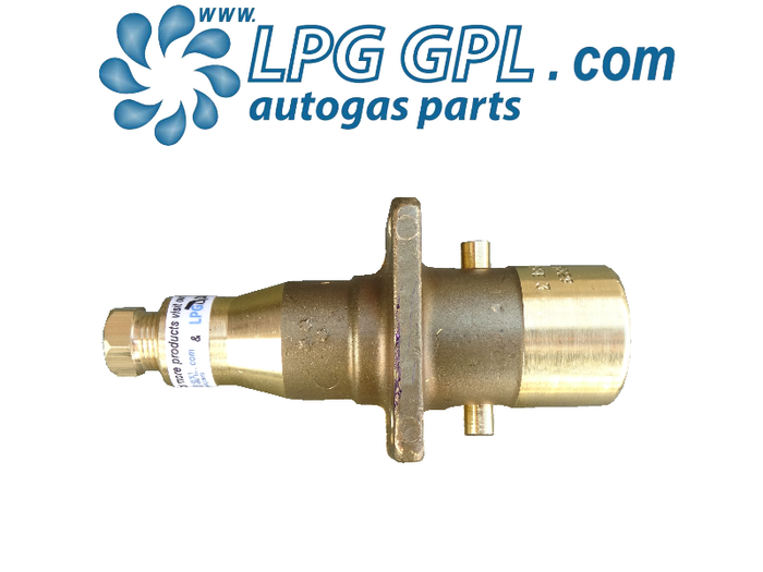 Autogas Filling Point 8mm Straight Bayonet Olive Fitting Brass