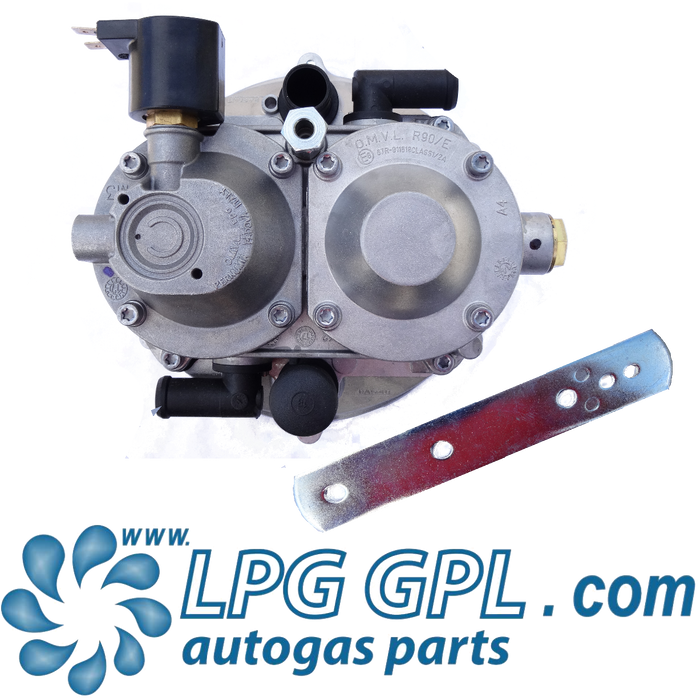 OMVL R90 Reducer Single Point Mixer LPG Autogas System Up To 5L
