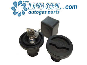 Autogas Filling Dust Cap Cover With Lock For Bayonet Filler UK