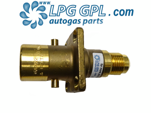 Autogas Filling Point JIC Straight Bayonet 3/4' 20mm Fitting