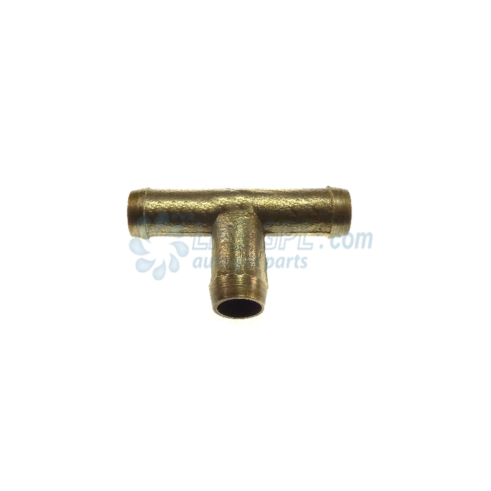 10 x 10 x 10mm Brass T Connection