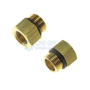Bush Collar Male M12 to 9mm 3/8 Adapter