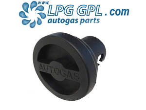 lpg dust cap, round, replacement autogas cover, cap, bayonet, uk filler
