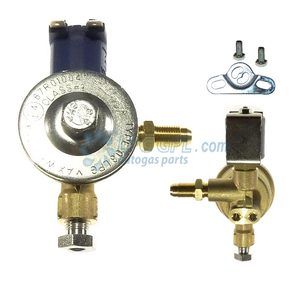lpg shut off valve, 6mm to m10, with filter, autogas valve, propane solenoid