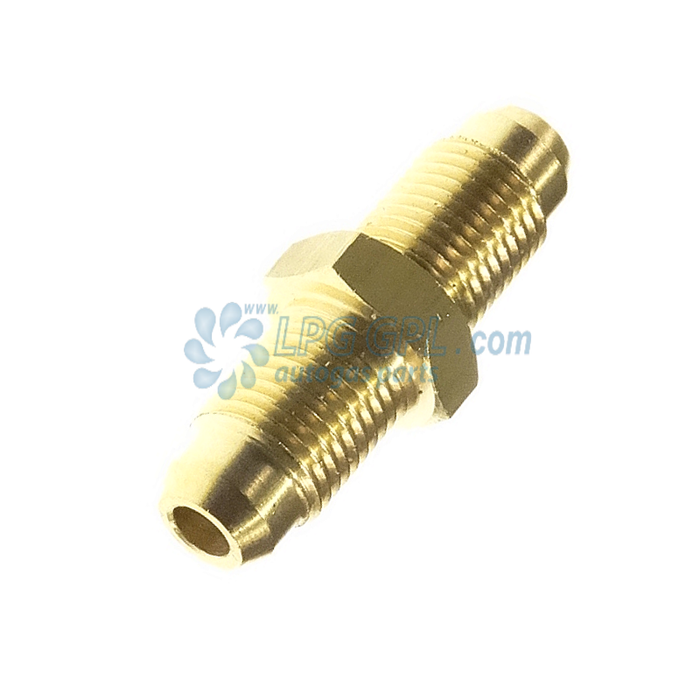 M12 to M12 Male Nipple Compression Fitting