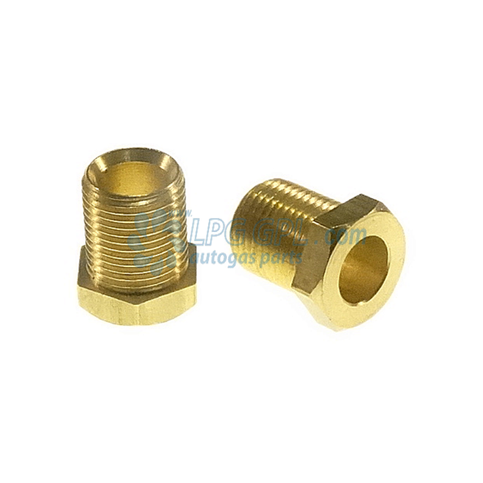 Nut M10 For 6mm Liquid Gas Pipe Fitting Compression Olive Barrel