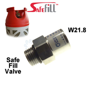 safe fill bottle adapter, safefill adapter, gas adapter